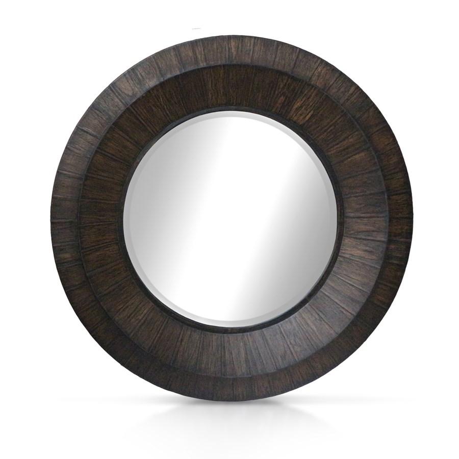 Megan Mirror - Black Wash