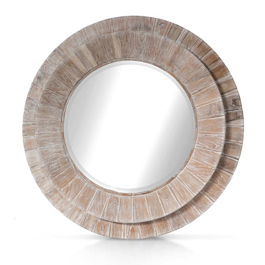 Megan Mirror - White Wash