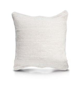 "Pillow, 24"" with Piping - Solid (Natural)"