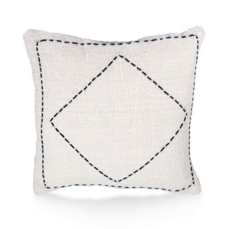 "Pillow, 20"" Square with Handstitch"