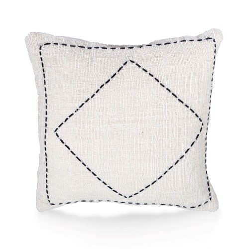 """Pillow, 20"""" Square with Handstitch"""