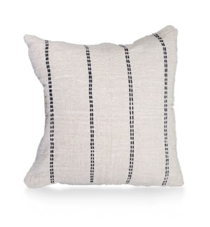 "Pillow, 20"" Square with Line Handstitch"