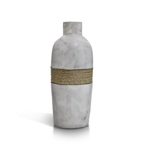 Bottle Vase with Rope