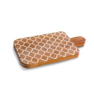 Teak Morrocan Cutting Board, Medium