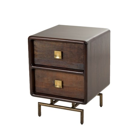 Leonardo Side Table - 2 Drawer