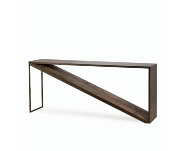 Triangle Console Table