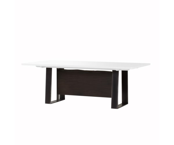 Jordan Dining Table 84 Quot White Acrylic Dining Tables Sonder Distribution