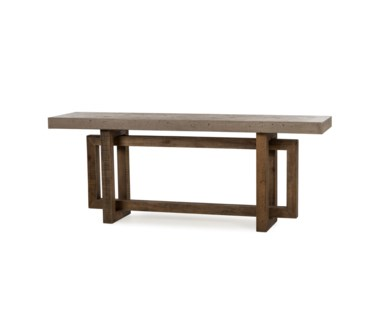 Cube Console Table