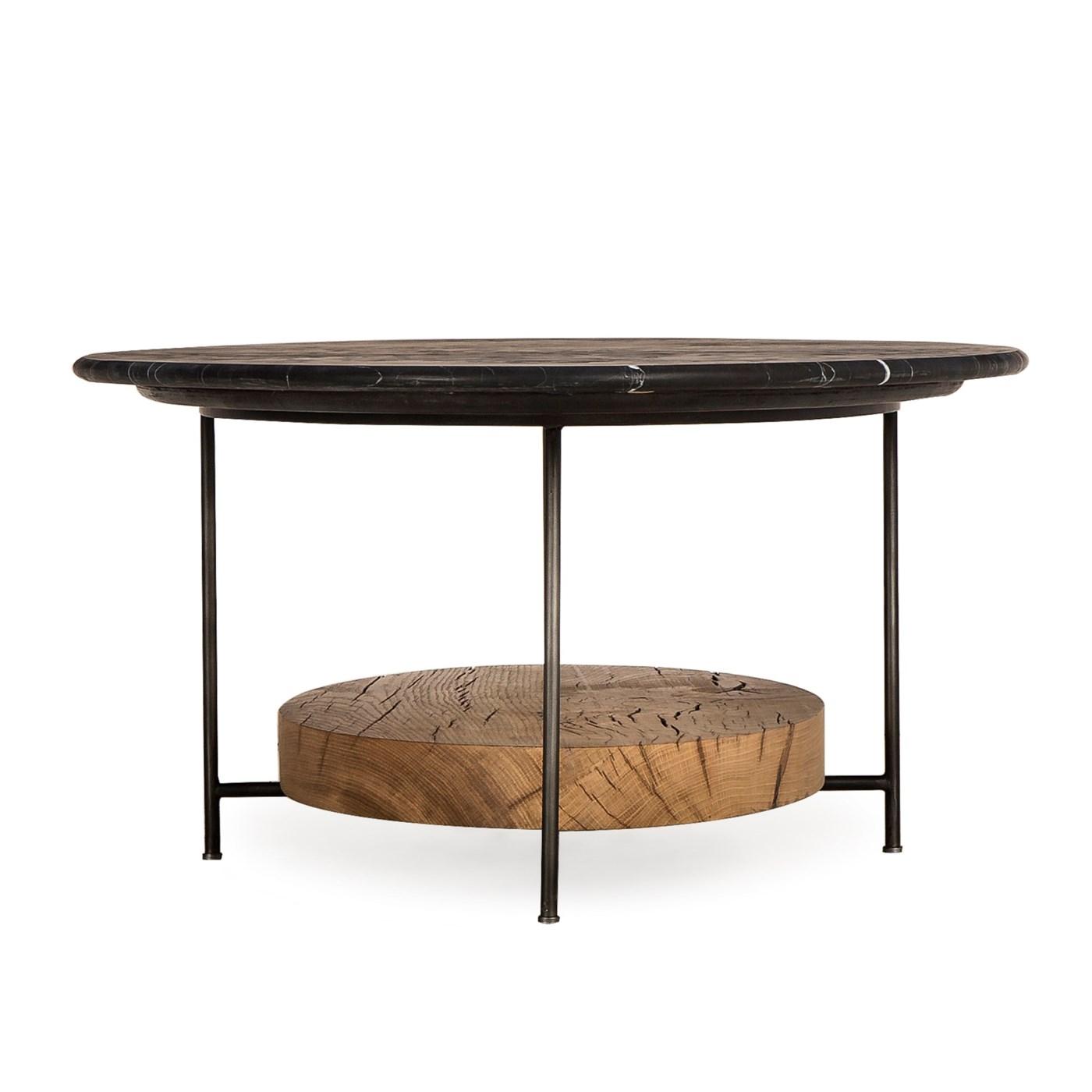 Olivia Coffee Table - Black Marble
