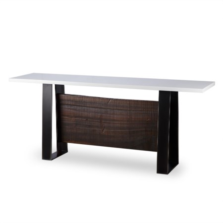Jordan Console Table - White