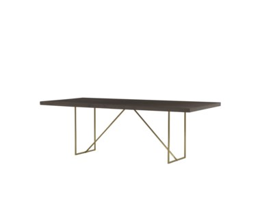 "Bridge Dining Table - 90"""