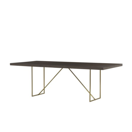 Bridge Dining Table - 90""