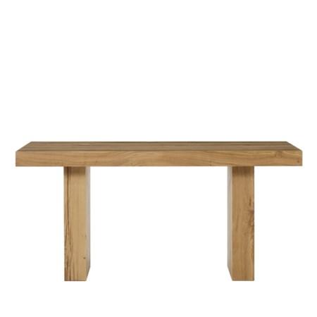 "Emelia Dining Table - 63"" / Natural Oak"