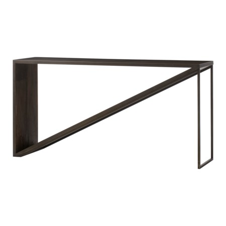 Triangle Console Table - 60""
