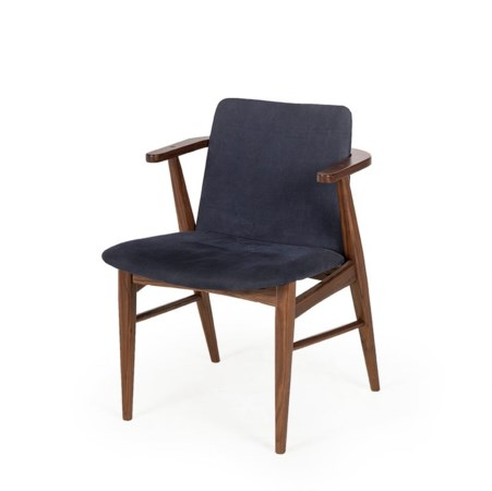 Sienna Chair - Blue Canvas