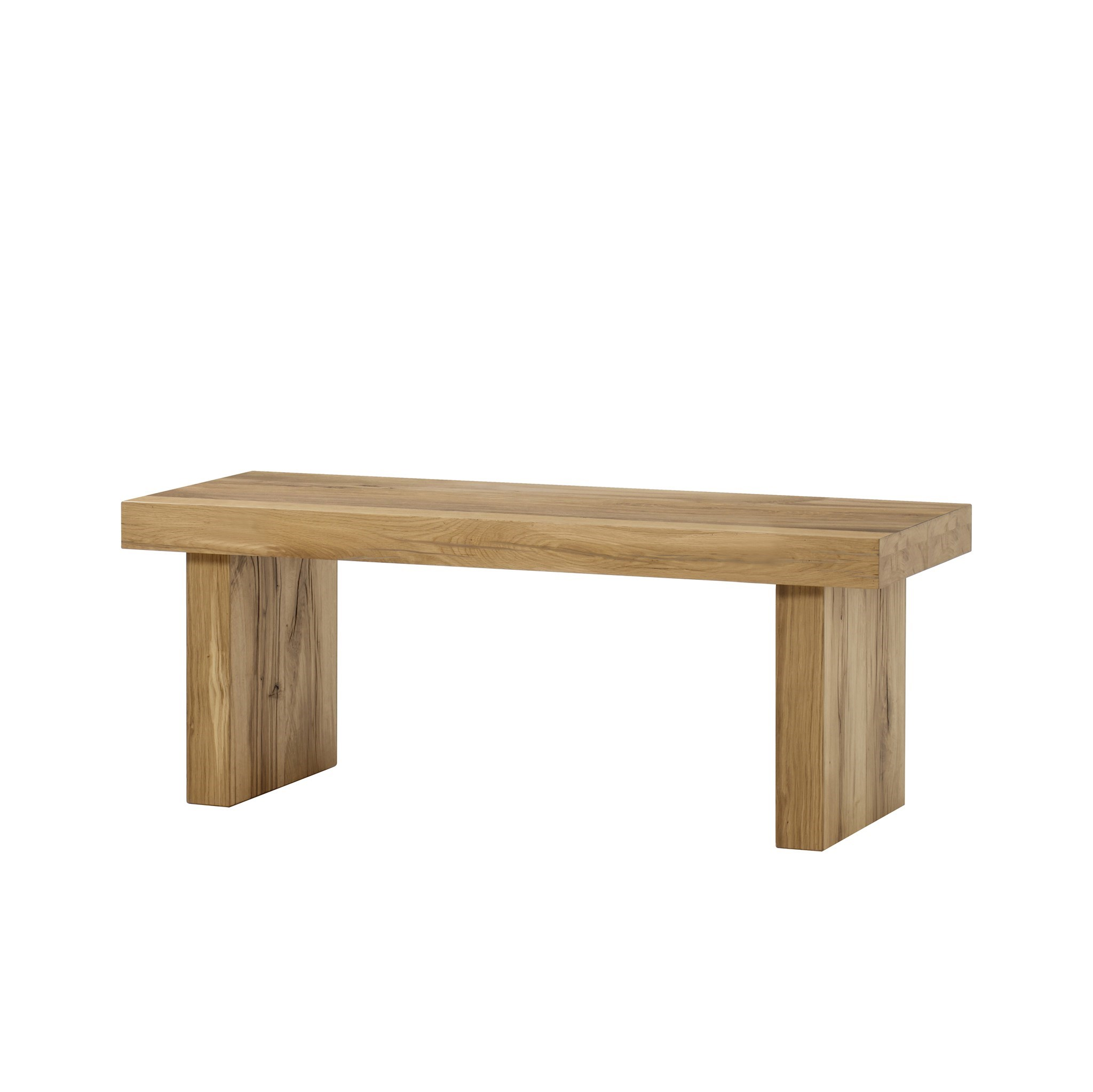 Super Emelia Bench Small Natural Oak Without Seat Pad Unemploymentrelief Wooden Chair Designs For Living Room Unemploymentrelieforg