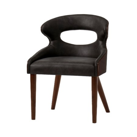 Tatiana Chair - Saddle Brown