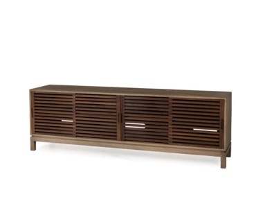 Camellia Media Console Table - 4 Door