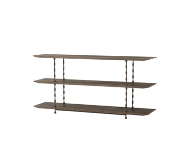Natal Media Console Table - 3 Tier