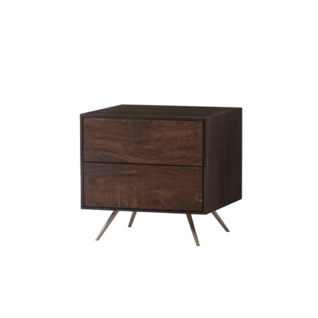 Almera Nightstand - 2 Drawers