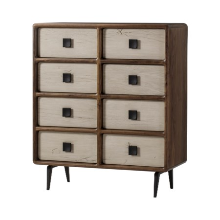 Da Vinci Dresser - 8 Drawer / Light