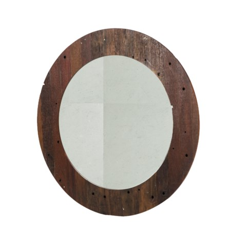 Damon Round Mirror