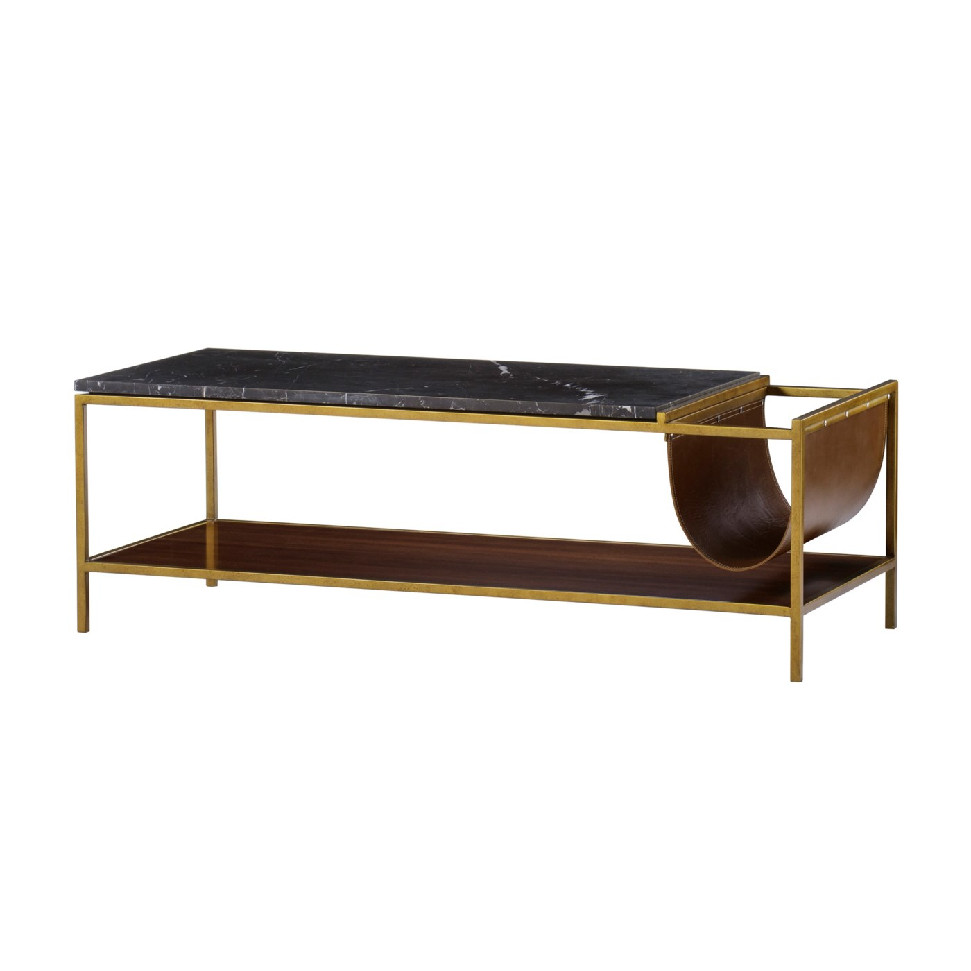 Copeland Square Coffee: Copeland Coffee Table With Magazine Rack