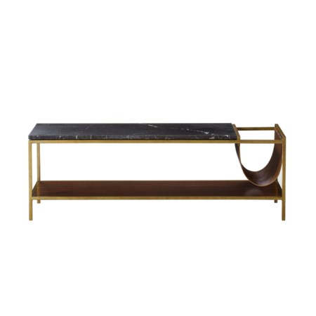Copeland Coffee Table With Magazine Rack