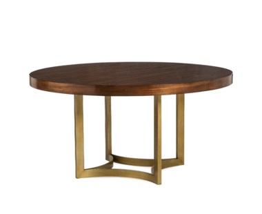 "Ashton Dining Table - Round 60"" / Walnut"