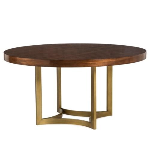 "Ashton Dining Table - 60"" Dia. / Walnut"