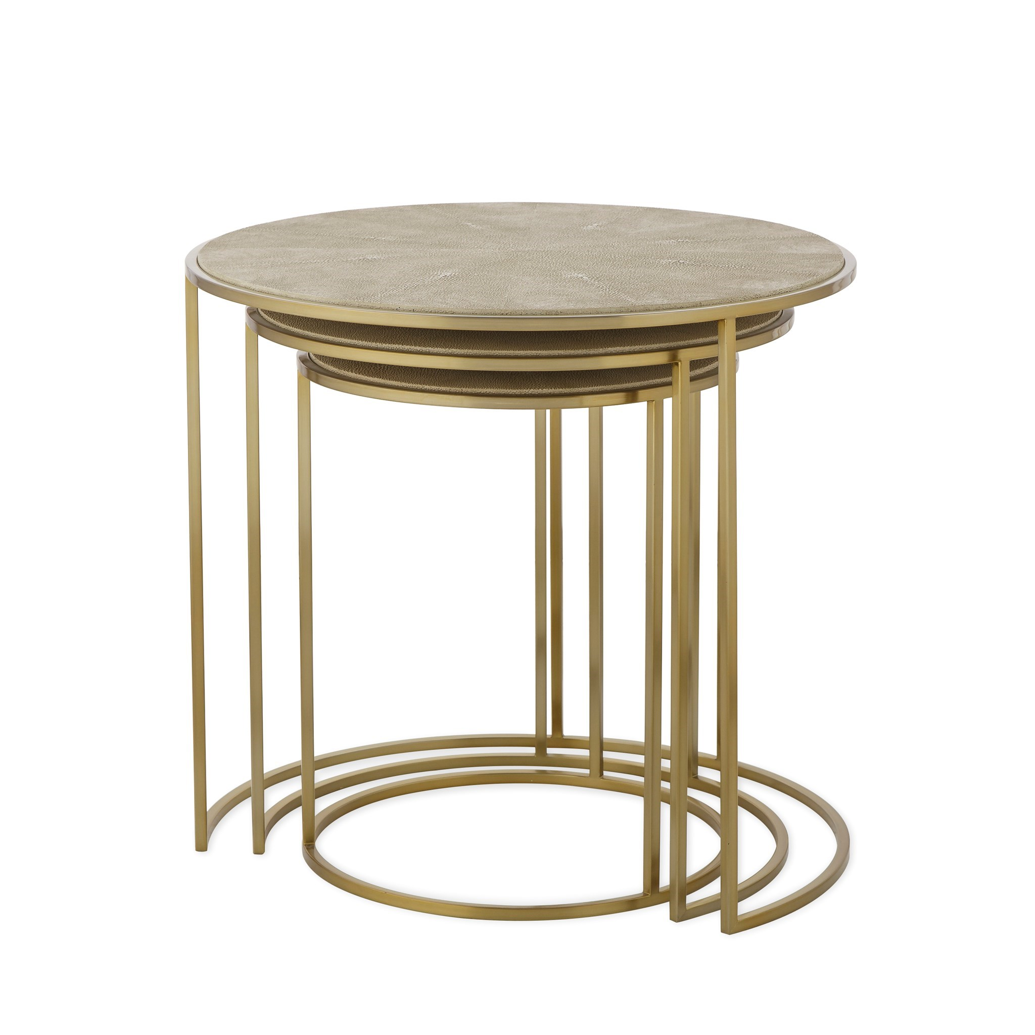 Gwen nesting table side accent tables resource decor