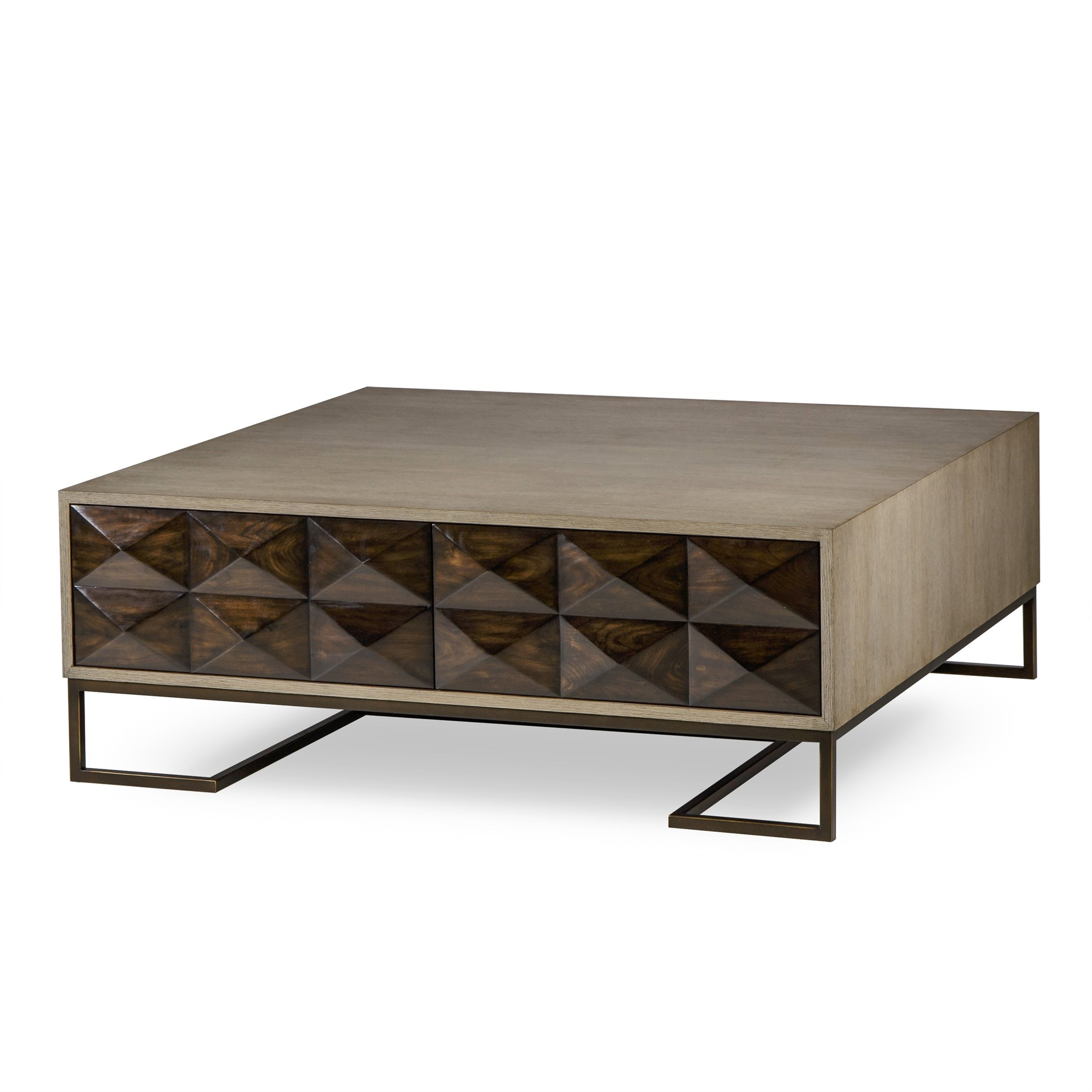 Coffee Table With Map Drawers: Casey Coffee Table