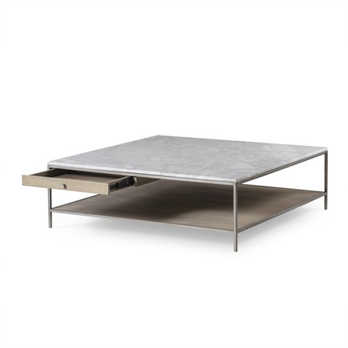 Paxton Coffee Table Square Large Dining Tables