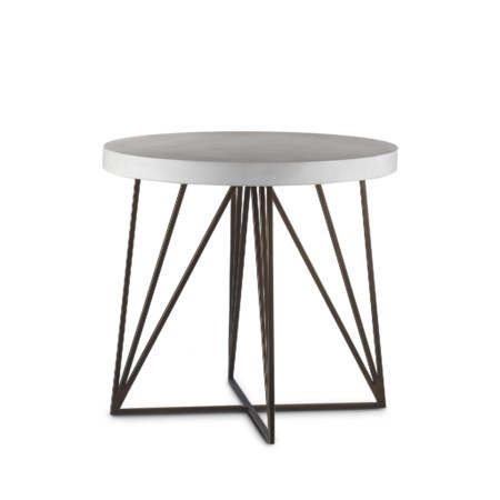 "Emerson Side Table - 26"" Dia."