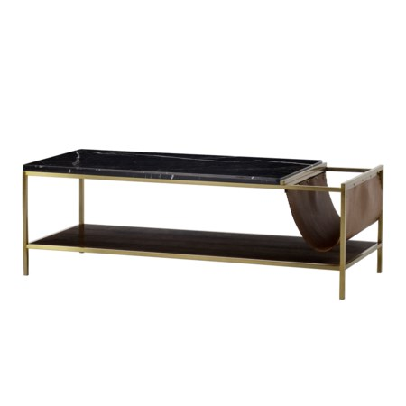 Chester Coffee Table - Rectangle / with Magazine Rack