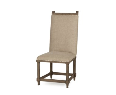 Wine Makers Side Chair - Textured Linen