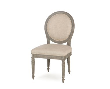 Nichole Side Chair - Textured Linen
