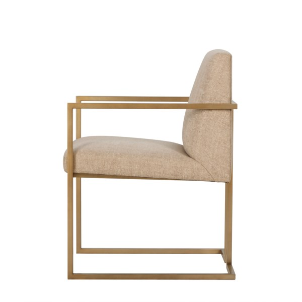 Ashton Arm Chair - Marley Hemp