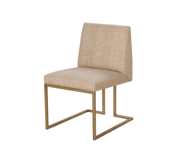 Ashton Side Chair - Marley Hemp