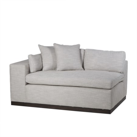 Dawson Left Arm Facing Loveseat - Melinda Nubia
