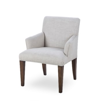 Aaron Arm Chair - Textured Linen