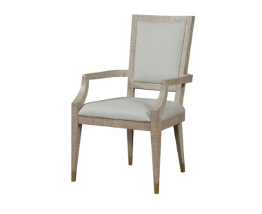 Raffles Dining Arm Chair - Norman Ivory