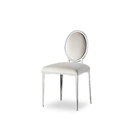 Chloe Vanity Chair - Vera Whisper