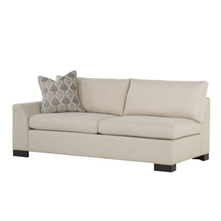 Ian LAF Loveseat - Clipped Arm / Block Leg - Marek Spritzer
