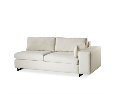 Ian Loveseat - RAF / Leg A Metal Sled / Madison Dove
