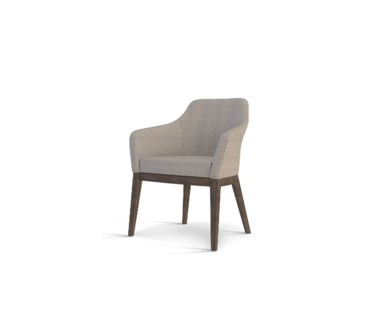 Emerson Dining Arm Chair - Marley Graphite