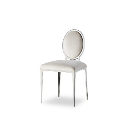 Chloe Light Vanity Chair - Vera Whisper (UK)