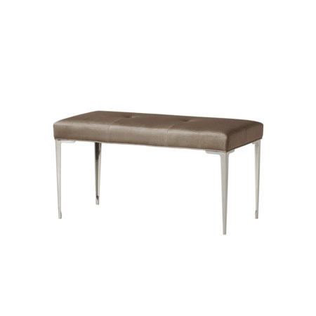 Chloe Dark Bench - Vadit Chocolate