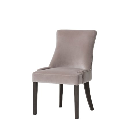 Dewbury Dining Chair - Dusty Pink