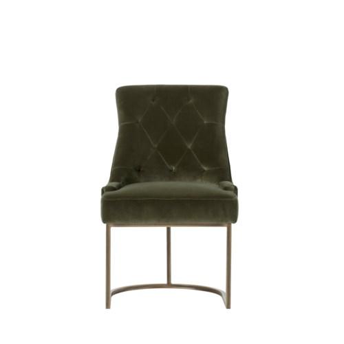 Rupert Dining Chair - Aged Green